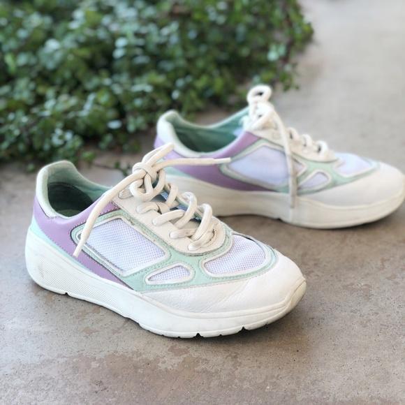 dc847770d1e Steve Madden White Chunky Current Sneakers